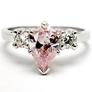 Wedding Rings With Pink Diamonds 4 Great Pink diamond engagement rings