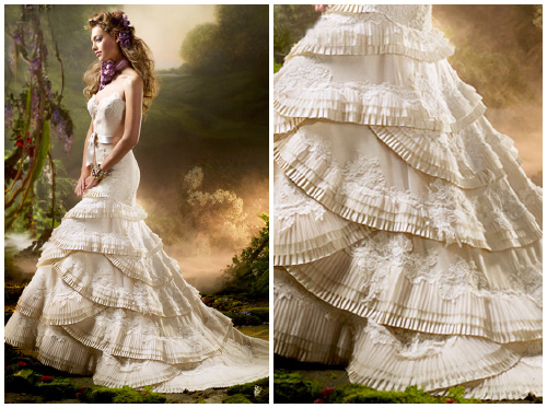 Wedding Dress Styles: Lazaro Wedding Dresses