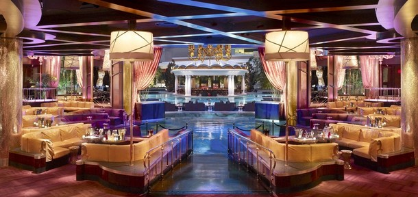 "Publicity photo of nightclub in new resort ""Encore"" in Las Vegas"